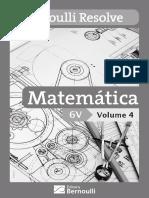 BERNOULLI RESOLVE_Matemática_Volume 4