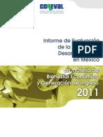 CONEVAL (2011) Bienestar Economico