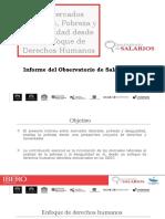 Universidad Ibero (2017) Informe del Observatorio de Salarios