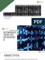 Lect 5 Introduction Statistics