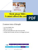 Myth about MBA –I cannot afford the course fee | SBi Scholar Scheme