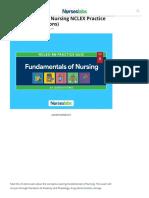 Fundamentals of Nursing NCLEX Practice Quiz 9 (25 Questions) - Nurseslabs (1)