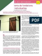-02- Les mouvements des fondations de maisons individuelles (Mouvements exceptionnels en sols sensibles)