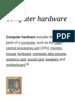 Computer hardware - Wikipedia