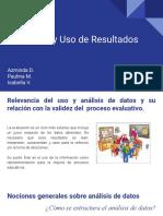 8 Analisis y Uso de Datos