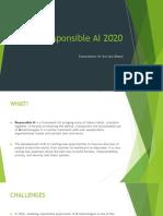 Responsible AI 2020