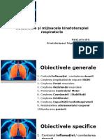 2.Obiective si Mijloacele kinetoterapiei respiratori