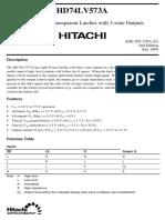 HD74LV573A