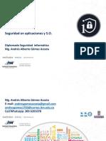 Seguridad en Aplicaciones y Bases de Datos