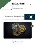 ▷ Trading Kraken _ Tout savoir sur la plateforme en 2019 [Guide complet]