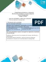 Guía de actividades y rúbrica de evaluación - Unidad 3 - Tarea 4 -  Técnicas asépticas y bioseguridad.pdf
