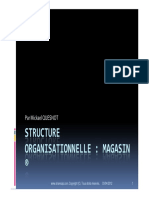 GU SAP Structure Organisationnelle Magasin