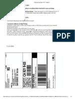 RMA100867 Return Label