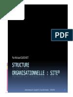 GU SAP Structure Organisationnelle Site