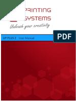 UP Plus 2 3D Printer Manual.pdf
