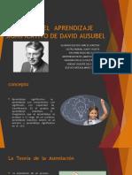 Aprendizaje significativo-David Ausubel