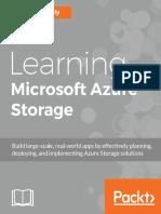 Learning Microsoft Azure Storag - Mohamed Waly