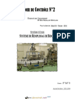 Devoir Corrigé de Contrôle N°2 - Génie mécanique Système de Conditionnement des Boites - 3ème Technique (2013-2014) Mr Ben Abdallah Marouan