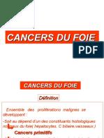 CANCERS DU FOIE