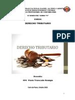 DERECHO TRIBUTARIO AÑO 2020