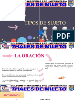 TIPOS DE SUJETO