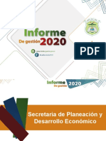 Presentación ALCALDE sector ambiente