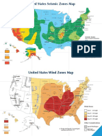 Chapter 5 - Risk Assessment Maps - United States - Seismic and Wind Zones_201402191227096564