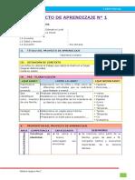 3. Proyecto de aprendizaje 1 - UD III - Editora Quipus Perú