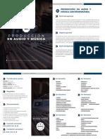 Producción en Audio y Música Contemporánea