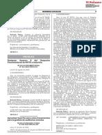 Aprueban Guía Peruana sobre lineamientos para la gestión de auditorias remotas RD 020-2020 INACAL