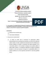 ANÁLISIS DE LECTURA DEL SISTEMA POLÍTICO EN EL PERU 1