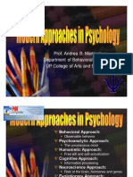 psych approaches