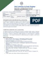 Nuevo Programa Sistema de Contabilidad II  CON 342
