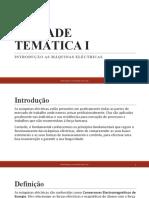 UNIDADE TEMÁTICA I