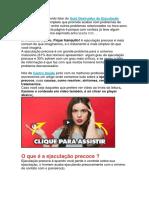 Destruidor de Ejaculação Precoce Funciona ? Destruidor de Ejaculação Precoce PDF Download Grátis