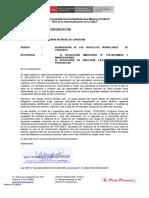 Oficio N° 132  Chacayan