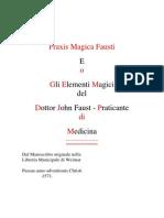 Praxis Magica Fausti italiano