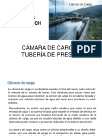 OBRAS CIVILES-PCH CÁMARA DE CARGA Y TUBERÍA DE PRESIÓN