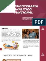 Psicoterapia análisis funcional