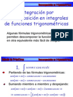 Descomposición en trigonométricas
