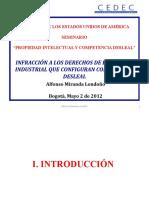 Competencia Desleal y Propiedad Industrial
