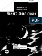 Proceedings of the National Meeting on Manned Spaceflight