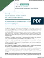 Del Estado docente a la Sociedad Educadora.pdf