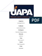 Tarea 4 de sociologia UAPA