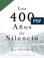 Los Cuatrocientos Años de Silencio - H A Ironside