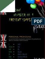 PRESENT SIMPLE (sem 1)- PERSONAL PRONOUNS- DO, DOES