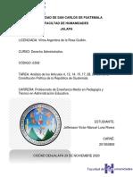 ANÁLISIS CONTITUCIÓN GUATEMALTECA.