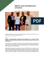 Au Mali, BiBook veut révolutionner l'accès à la lecture