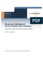6282970-Business-Intelligence-for-the-Health-Care-Industry-Actionable-Insights