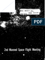 Proceedings of the Second Manned Spaceflight Meeting